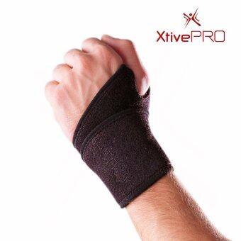 XtivePro Wrist Wrap ผ้าพันข้อมือ ผ้ารัดข้อมือ ยกเวท เล่นกีฬา ฟิตเนส ป้องกันอาการบาดเจ็บ