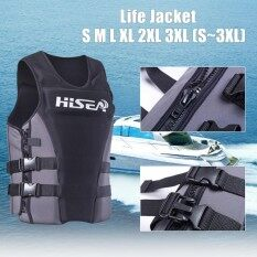 ส่วนลด Xxxl Adults Kids Life Jacket Premium Neoprene Vest Water Ski Wakeboard Pfd Intl