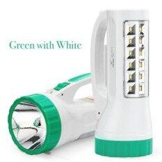 ราคา Yage ไฟฉายแรงสูง สปอร์ตไลท์ Led Super Zoom พร้อมโคมไฟ สีเขียว ใหม่