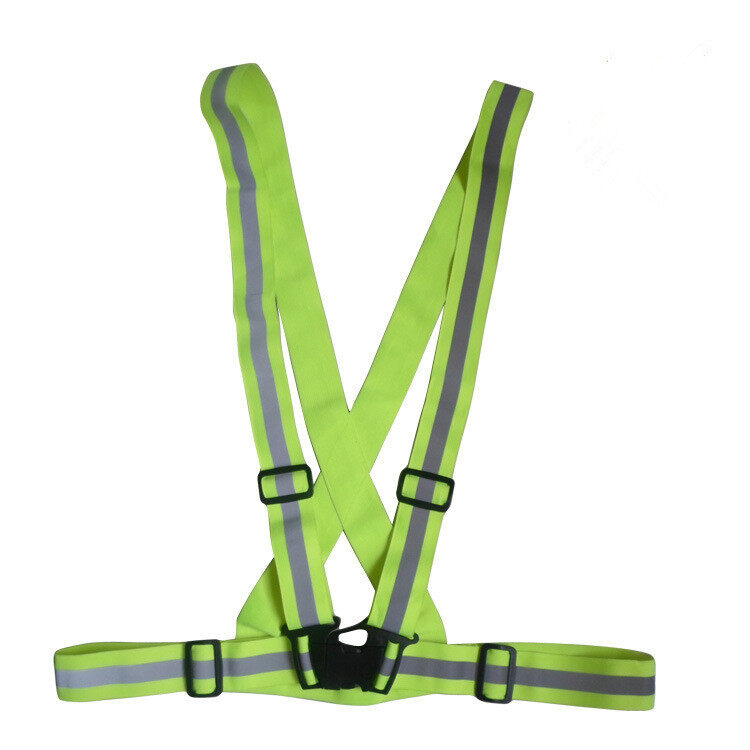 YingWei Reflective Safety Running  Elastic Reflective Vest (Green)