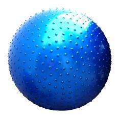 โปรโมชั่น Yoga Ball โยคะบอล ลูกบอลโยคะ บอลโยคะ บอลฟิตเนส ยิมบอล 75Cm แบบหนาม ฟรีที่สูบลม สีน้ำเงิน ใน กรุงเทพมหานคร