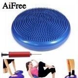 ขาย Yoga Massage Cushion Mat Universal Inflatable Yoga Wobble Stability Balance Disc Massage Cushion Mat Yoga Fitness Balls Blue Intl ถูก ใน จีน