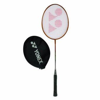 Yonex ไม้แบดมินตัน badminton พร้อมถุง รุ่น GR340 - Orange/Silver