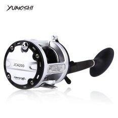 Yumoshi 12 1 ตลับลูกปืน Drum Fishing Reel ขวามือ 200 ใหม่ล่าสุด