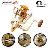 ราคา Yumoshi 12Bb Fishing Reel Fly Fishing Reel Shimano Carp Fishing Reels Ef5000 Intl ใหม่