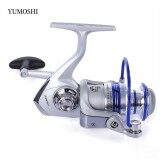Yumoshi 12Bb Half Metal Fishing Spinning Reel With Exchangeable Handle Intl เป็นต้นฉบับ