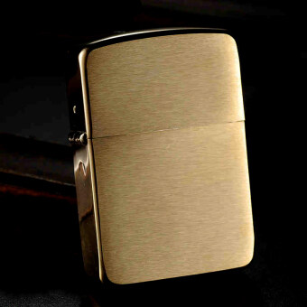 Zippo 1941 Replica™ ทองอร่าม Classic Body Brushed Brass USA