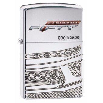 Zippo 29478Limited Edition Chevy CamaroArmor Case High Polish Chrome