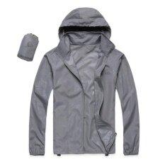 ขาย เสื้อผ้าร่มใช้กิจกรรมกลางแจ้งกัน Uv ยี่ห้อFei สีเทาอ่อน Upf40