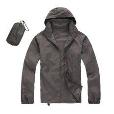 เสื้อผ้าร่มใช้กิจกรรมกลางแจ้งกัน Uv ยี่ห้อFei สีเทาเข้ม Upf40 สมุทรปราการ