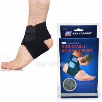 ZXK - ANKLE SUPPORT สนับรัดข้อเท้า เล่นกีฬา ป้องกันอาการบาดเจ็บ แบบปรับสายได้ สีดำ