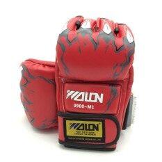 Zxk - Boxing Gloves นวม Mma นวมชกมวย นวมต่อยมวย นวมซ้อมมวยแบบตัดปลายนิ้ว By Zxk Sports.