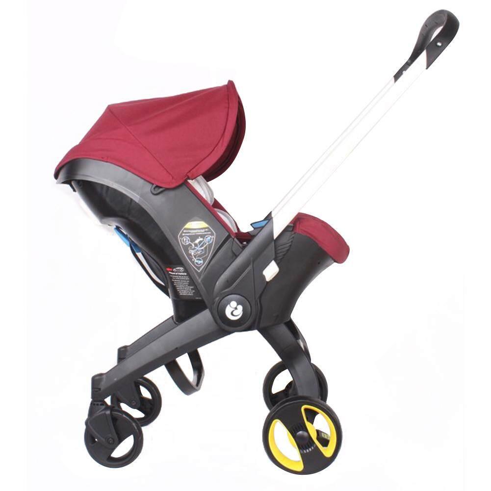 MG【Big Discount】มัลติฟังก์ชั่ 4 ใน 1 คู่พับความปลอดภัยรถเข็นเด็กทารก