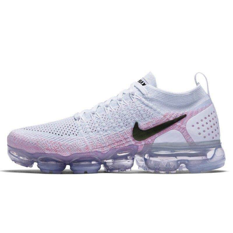 new products 5927e 96469 Nike air vapormax flyknit Women's Running Shoes Sports Mesh Breathable  Waterproof Slow Shock Sneakers Women