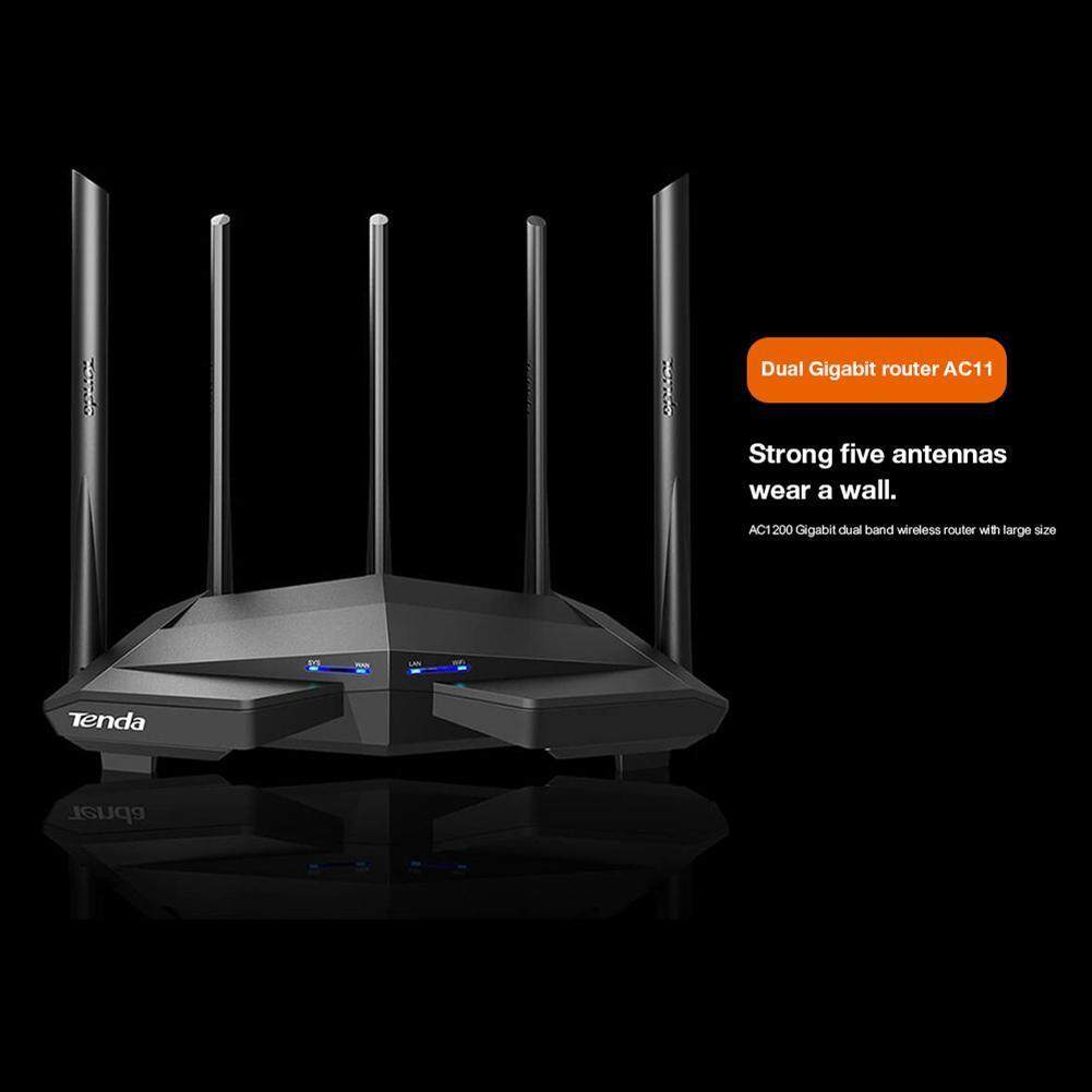 Tenda Ac11 1200mbps 2.4ghz/5ghz Dual Band Wifi Router Wireless Repeater For Tenda เราเตอร์ไร้สาย.