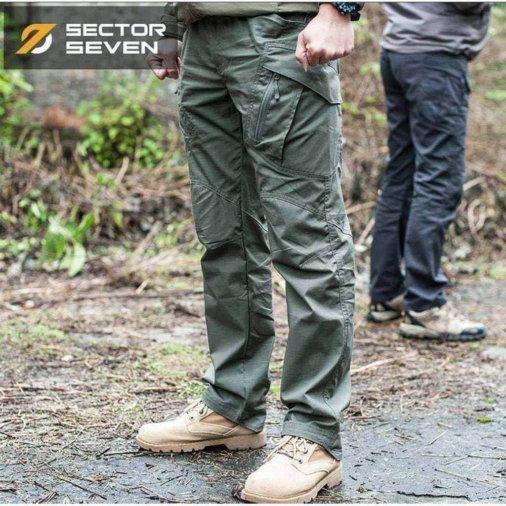 กางเกง Sector Seven รุ่น Ix9c ผ้าตาราง กางเกงกันน้ำ กางเกงทหาร กางเกงเดินป่า.