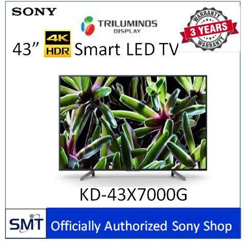 Sony  43  4k Hdr Smart Tv Kd-43x7000g  รุ่นปี 2019.