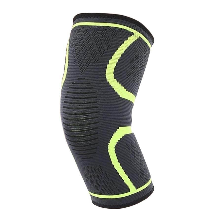 Alizwellmart สนับเข่ายางยืด ขี่จักรยาน สนับเข่ากีฬา แผ่นพยุงเข่ายางยืด สนับเข่า สำหรับบาสเก็ตบอล วอลเลย์บอล สนับเข่านิรภัย (1ชิ้น) ฟิตเนส วิ่ง.