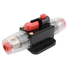 ราคา 60A Amp Dc 12V Car Stereo Audio Inline Circuit Breaker Replacement Fuse Holder Protector For Auto Car Unbranded Generic