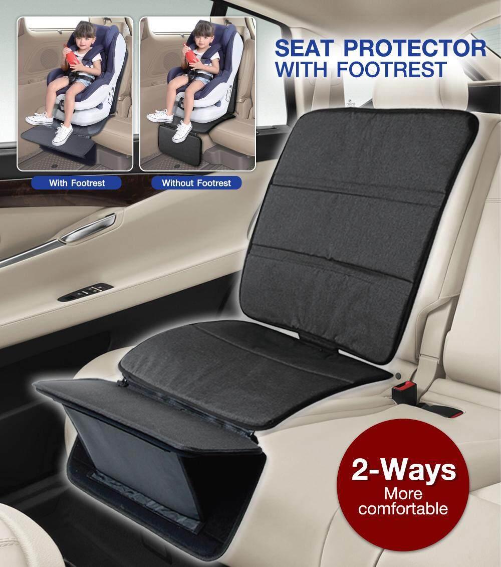 แผ่นรองติดตั้งคาร์ซีทพร้อมที่วางเท้า Seat protector with footrest