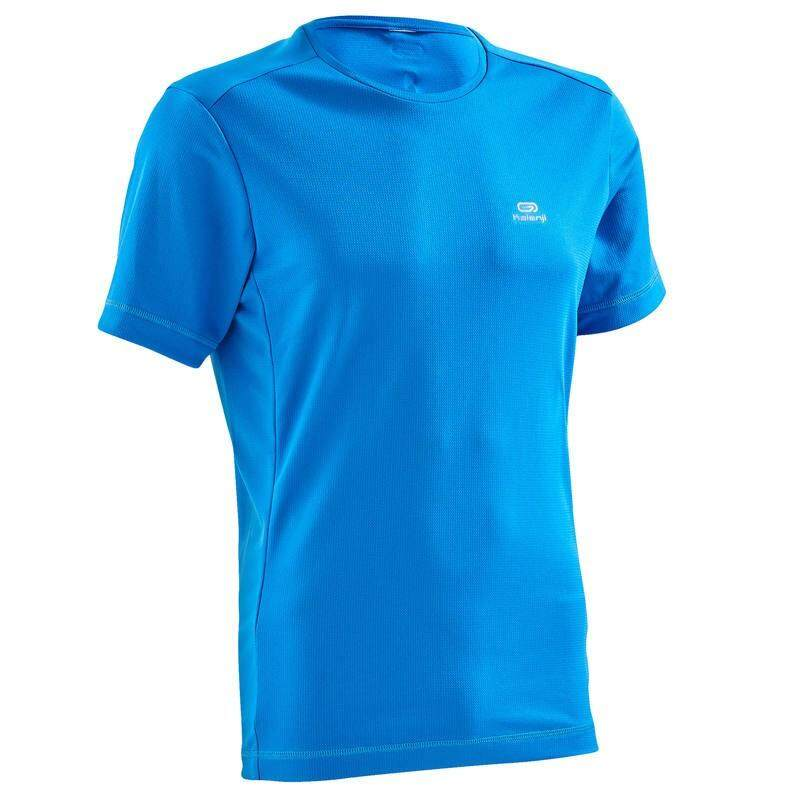 เสื้อยืดใส่วิ่งสำหรับผู้ชายรุ่น Run Dry (สีฟ้า) By Pank19.