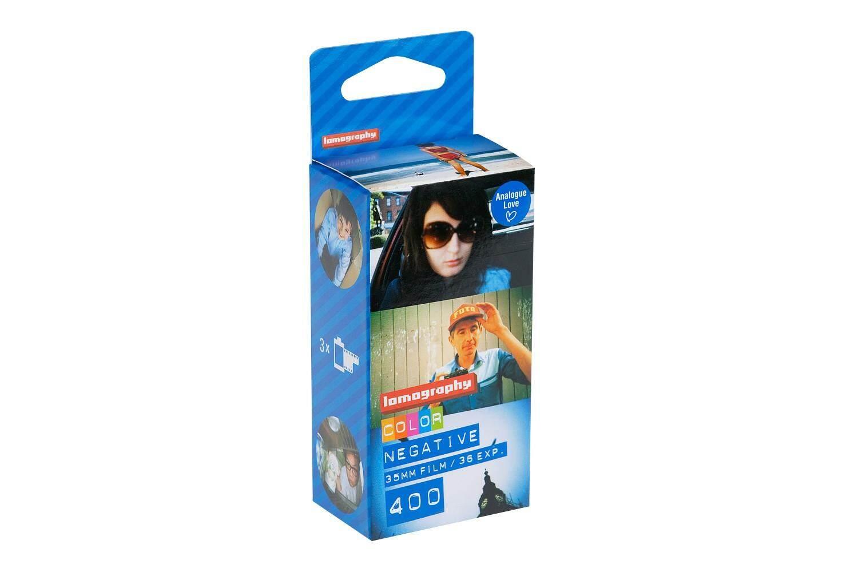 ฟิล์มสี Lomography Color Negative 400 35mm 36exp Pack 3 ม้วน Film 135-36 ฟิล์มถ่ายรูป Lomo.