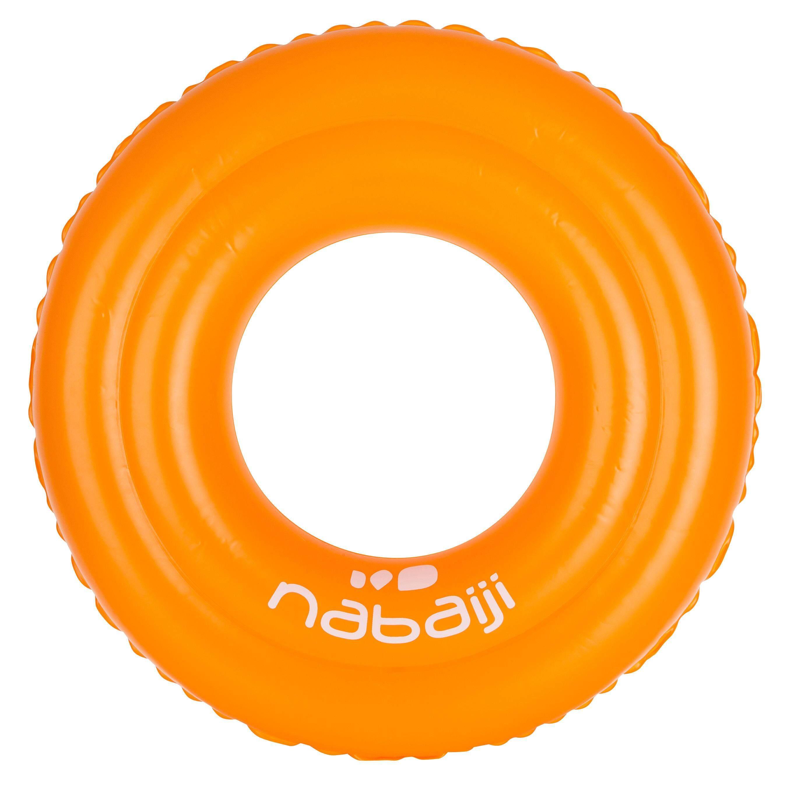 [ด่วน!! โปรโมชั่นมีจำนวนจำกัด] ห่วงยางว่ายน้ำแบบเป่าลม 51 ซม. สำหรับเด็กอายุ 3-6 ปี (สีส้ม) สำหรับ ว่ายน้ำ