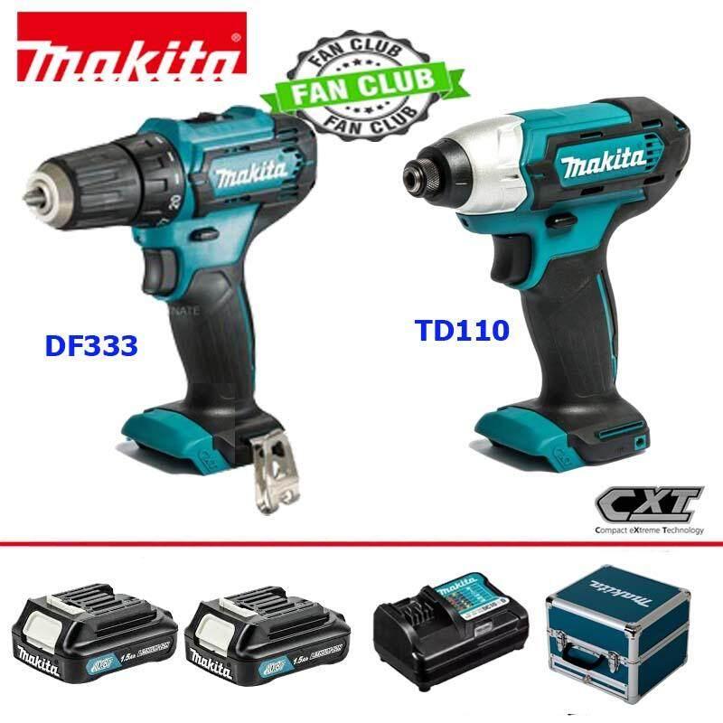 COMBO KIT CLX224X1 (DF333DZ+TD110DZ+BOX 12V MAX) makita combo kit