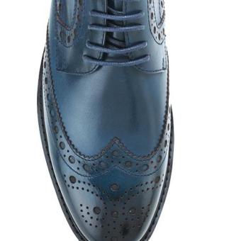 Mac & Gill Perforated Genuine Leather shoes รองเท้าหนังแท้เป็นทางการสวมใส่ที่ดีงามคลาสสิก