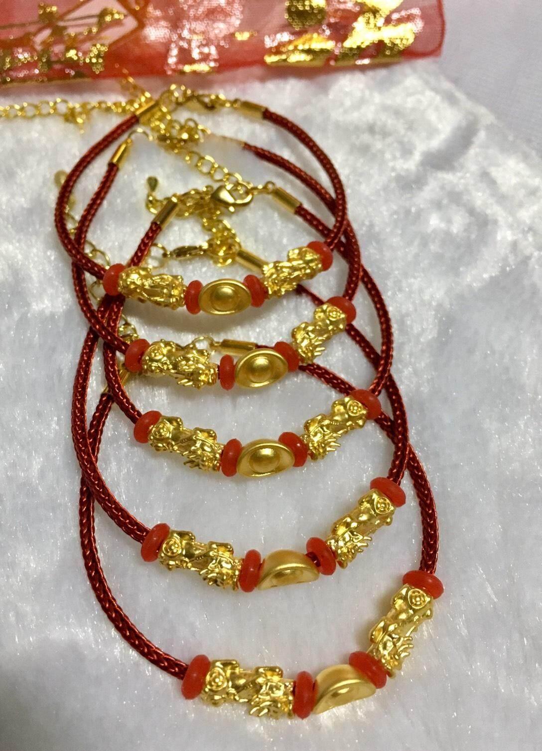 ปี่เซียะคู่ + กิมตุ้งก้อนทอง ทองแท้99.99% เสริมดวงเฮงๆ By Jinda Gold.