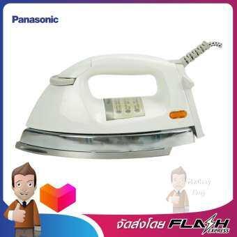 PANASONIC เตารีดไฟฟ้า 4.5 ปอนด์ 2.0 กก.สีขาว รุ่น NI-26AW
