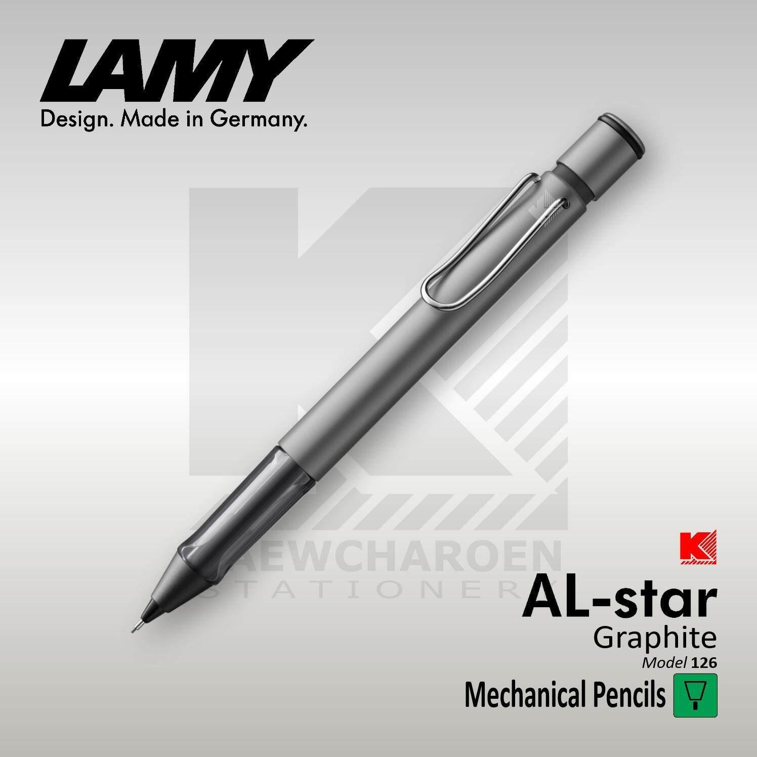 ดินสอกด Lamy Al-Star รุ่น 126 ด้ามสีเงินกราไฟท์ (ขนาด 0.5 มม.).