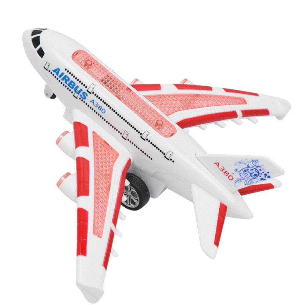 เด็กของเล่นเครื่องบิน Airbus แผงควบคุมระยะไกลด้วยสัญญาณไฟฟ้าโมเดลเครื่องบินจำลองพร้อมไฟเสียง By Wondering Accessories.
