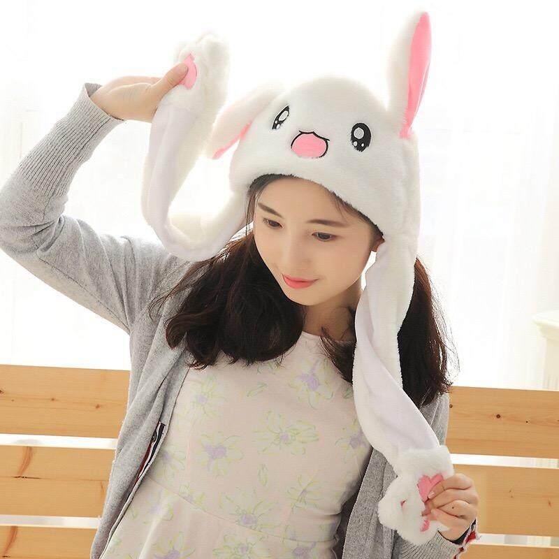 I.qq สินค้าขายดี หมวกหูกระต่าย ดุ๊กดิ๊ก หมวกหูกระต่ายขยับได้ หมวกหูกระต่ายกระดิกได้ หมวกหูกระต่าย นายอน หมวกหูกระต่ายบีบได้ หมวกหูกระต่าย กระดิก หมวกหูกระต่าย ขยับได้ หมวกหูกระต่าย กระดิกได้ หมวกหูกระต่าย เป่าเปา ไม่มีไฟ/มีไฟ By I.qq.