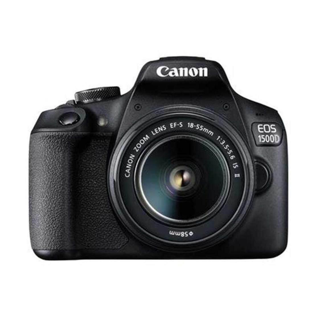 Canon กล้อง DSLR รุ่น EOS 1500D Kit EF-S18-55 IS II ประกันศูนย์ไทย