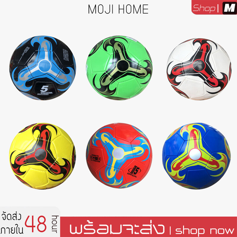 Football ลูกฟุตบอล มันวาว ทำความสะอาดง่าย ฟุตบอล Soccer Ball บอลหนังเย็บ ลูกบอล ลูกฟุตบอลเบอร์5หนังเย็บ เบอร์ 5 มาตรฐาน หนัง Pu นิ่ม ลูกฟุตซอล อุปกรณ์ฟุตบอล