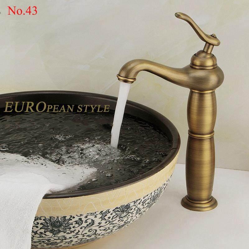 ก๊อกน้ำงวงช้างทองเหลืองสไตล์ยุโรป+พร้อมท่อน้ำดี (European style DD043 )