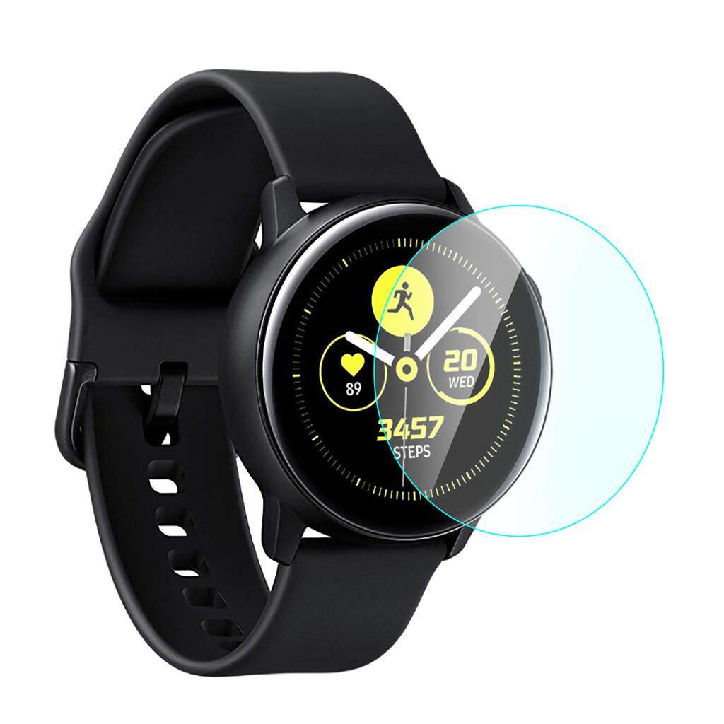 Big Sale 3 Pcs For Samsung Galaxy Active Watch Protective Tempered Glass Screen Protector Malaysia