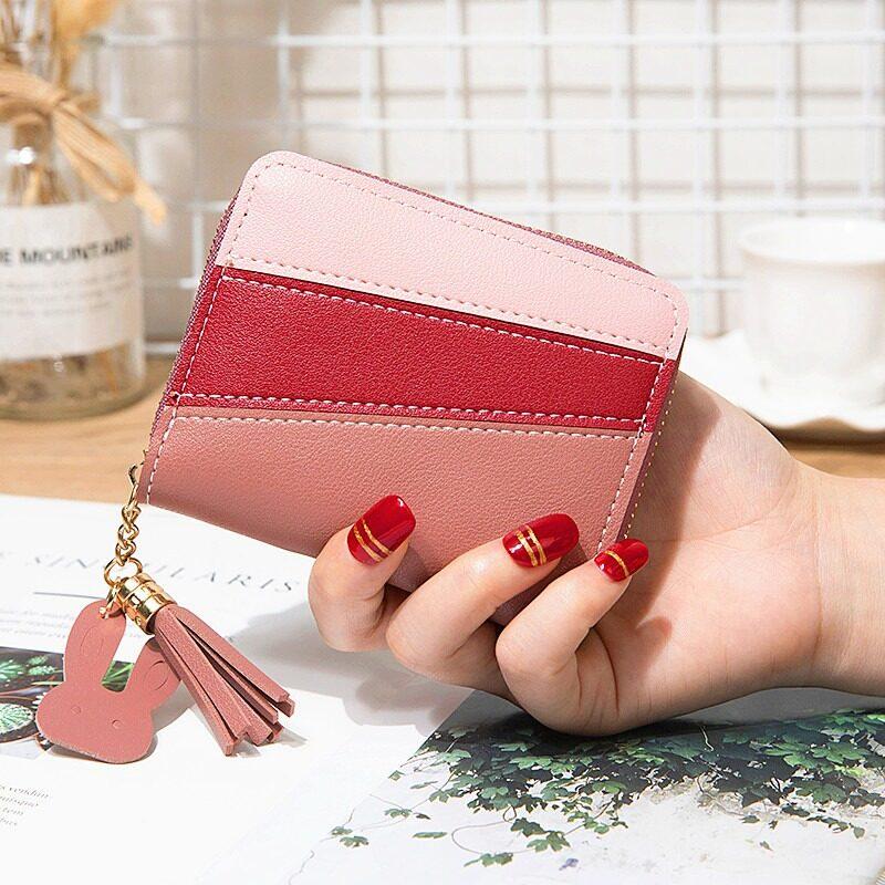 กระเป๋าสตางค์ใบสั้น รุ่น204 กระเป๋าสตางค์ กระเป๋าสตางค์ผู้หญิง กระเป๋าสตางค์ผู้หญิงใบสั้น