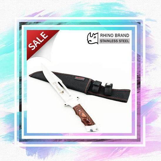 มีดใบตาย NO.KM52 Rhino Brand