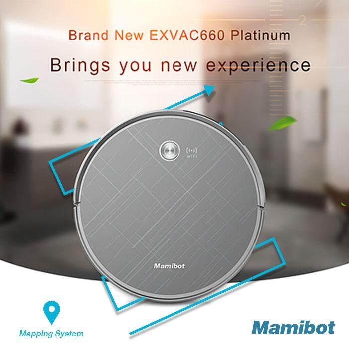 เลือกซื้ออย่างไรดี  Mamibot EXVAC660 Platinum robot vacuum cleaner with Mapping System หุ่นยนต์ดูดฝุ่น ทำความสะอาด อัตโนมัติ จัดจำหน่ายโดย iGGOO ดีมั้ย