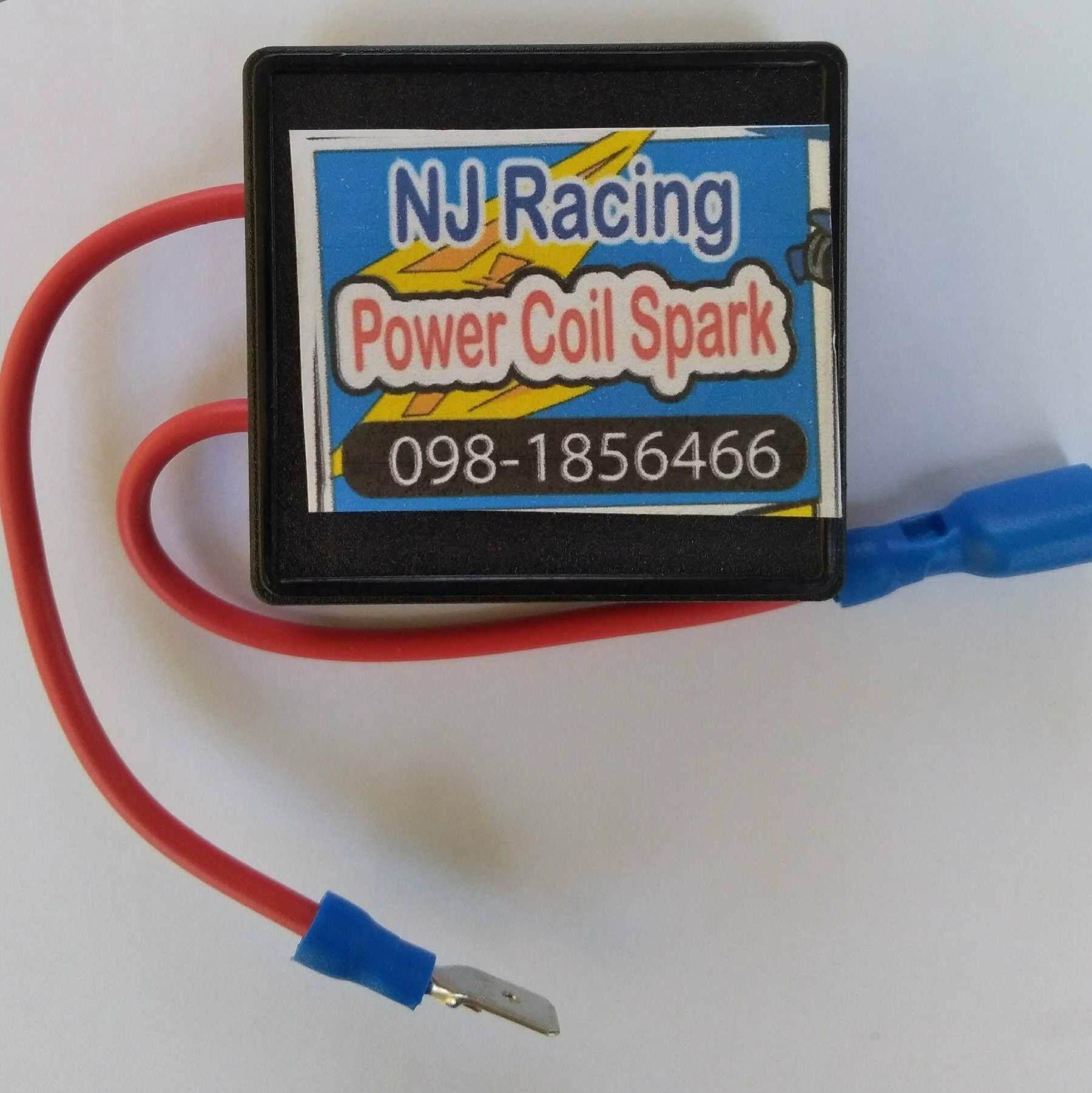 กล่องเพิ่มไฟคอยล์หัวเทียน V.2 By Nj Racing.