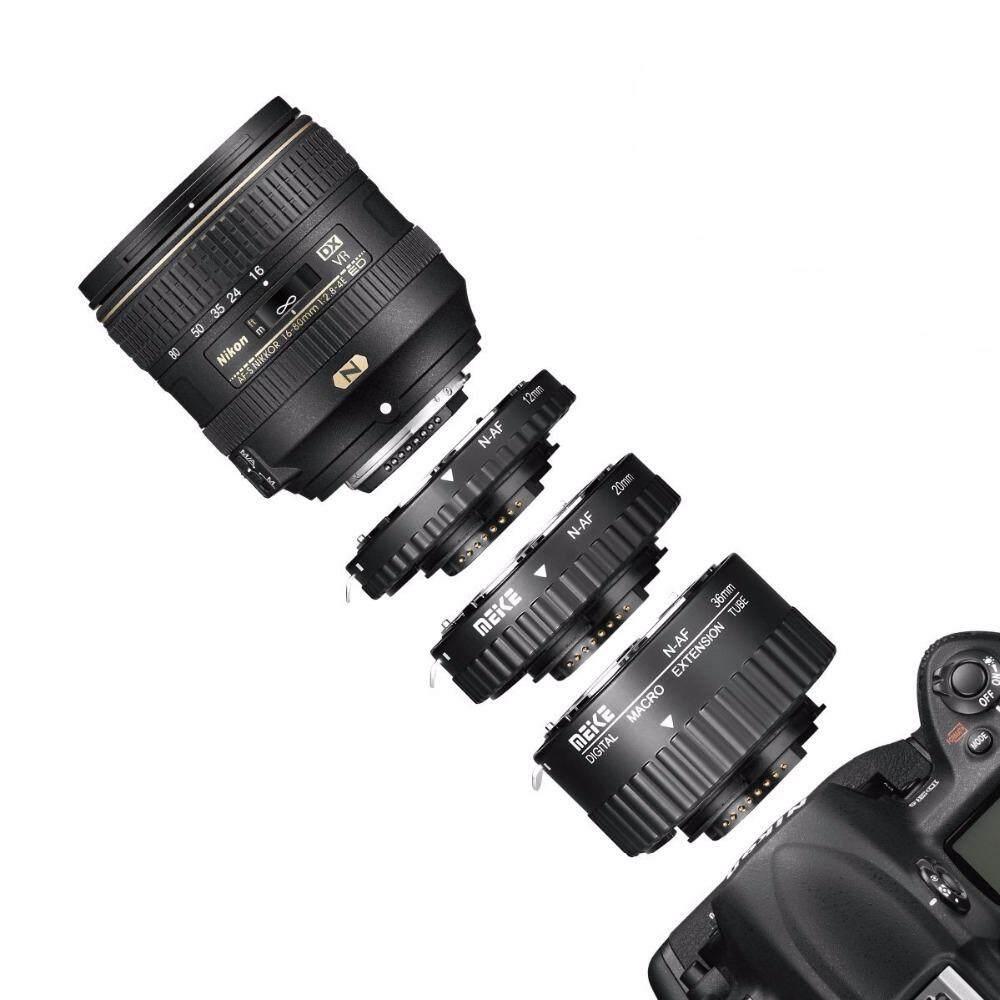 ท่อมาโคร Meike Mk-N-Af1-B สำหรับกล้อง Dslr Nikon.