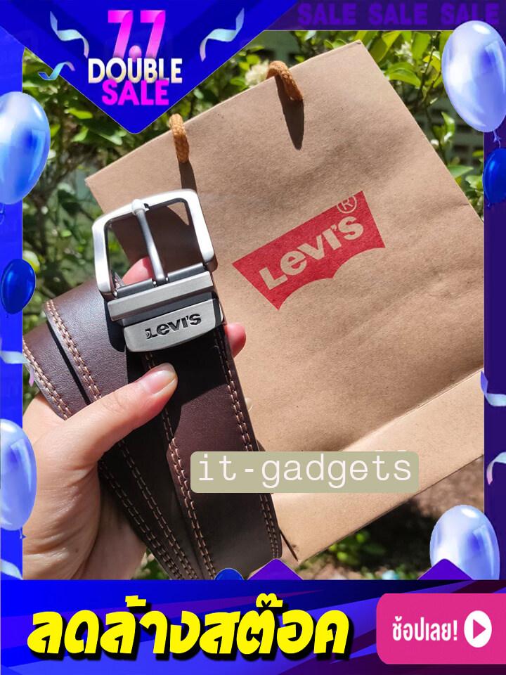 (พร้อมส่ง)เข็มขัดลีวายส์ Levis Belt Set+กล่อง+ถุง.