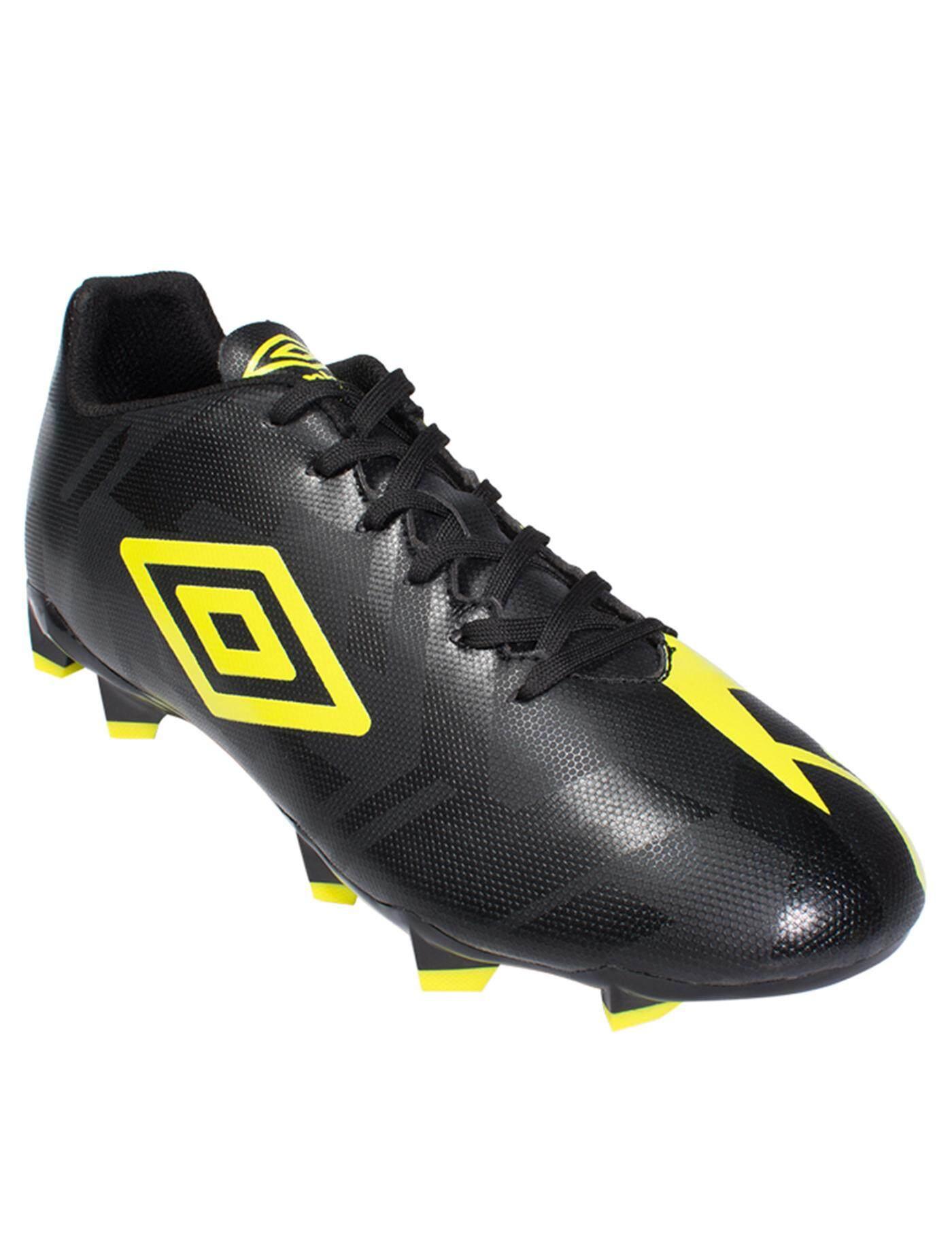 Umbro รองเท้าฟุตบอลผู้ชาย Veloce 4 Fg 81415u-Gjv ไซส์ Us7_สีดำ By We Have Item.