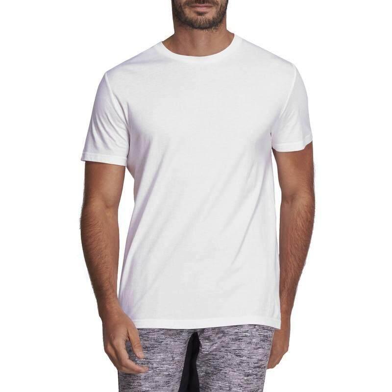 เสื้อยืดกายบริหารทั่วไปและพิลาทิสรุ่น 100 Sportee (สีขาว) By Thirty Oneshop.