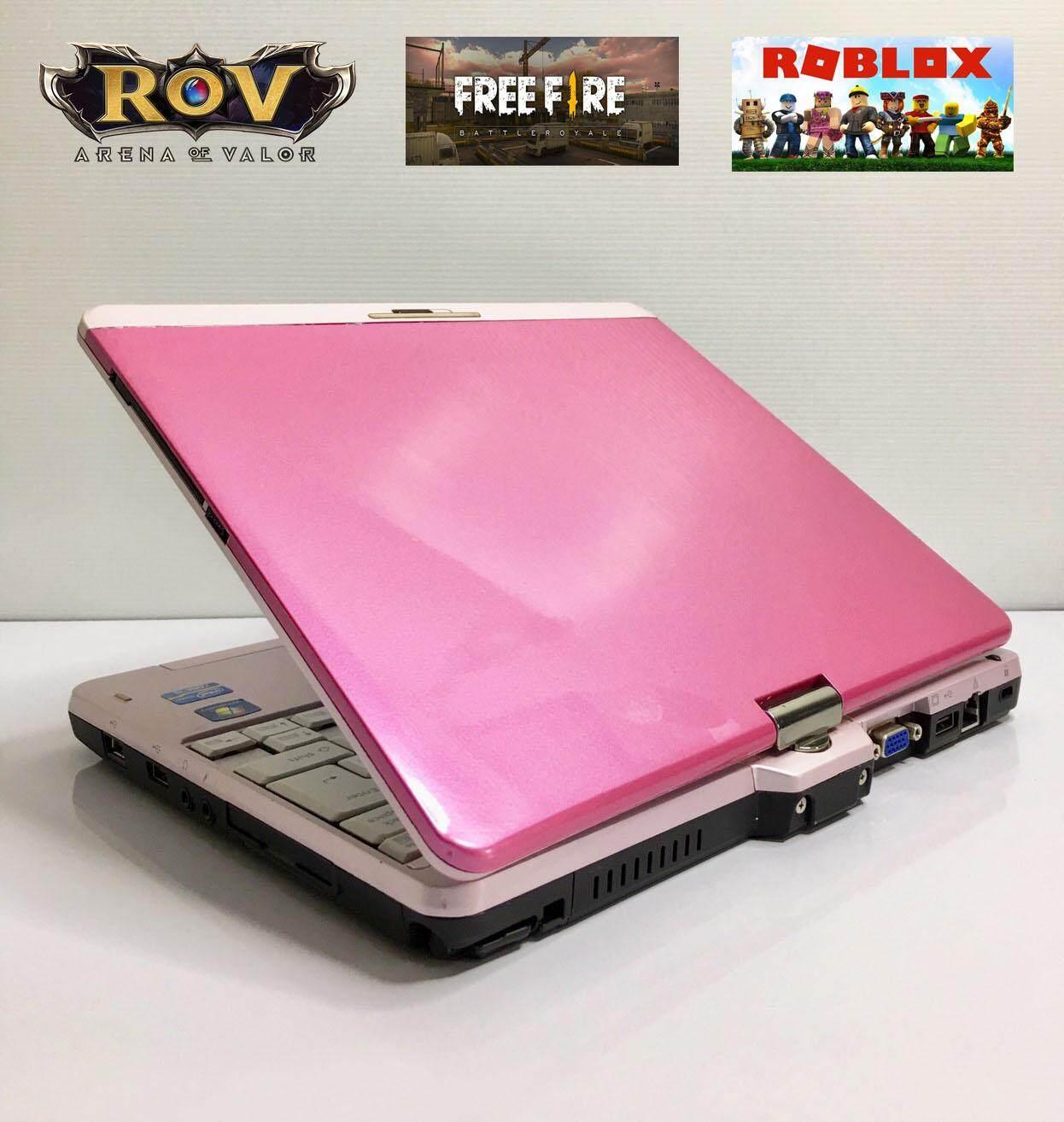 โน๊ตบุ๊ค Notebook Tablet Fujitsu Tl1 Core I5 (ทดสอบแล้ว เกมส์ Rov, Free Fire, Roblox เล่นได้) By Niceit..