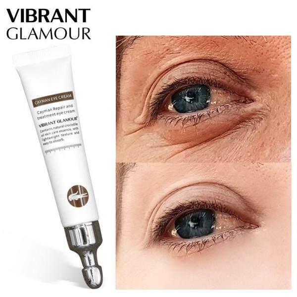 Kem Dưỡng Mắt Cá Sấu Dưỡng Trắng Giảm Thâm Bọng Mắt Chống Lão Hóa Vibrant Glamour Anti-Aging Cayman Eye Cream 20Ml giá rẻ