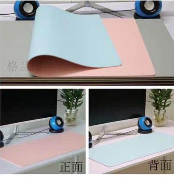 Office Desk Mouse Mat Large Business Desk Base Plate Children xie zi dian Leather Desktop Mat Dashboard Cover Waterproof