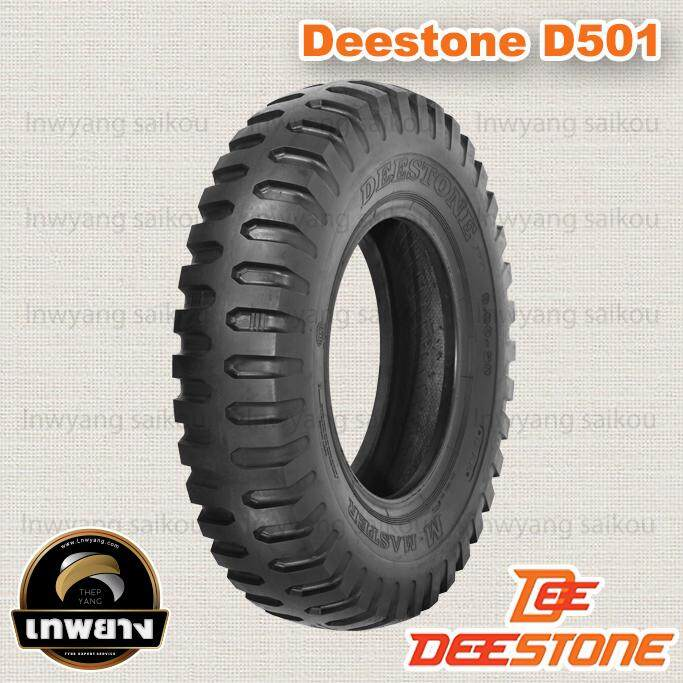 6.00-16 6pr ยี่ห้อ Deestone รุ่น D501 Tt ยางรถทหาร By Lnwyang Saikou.